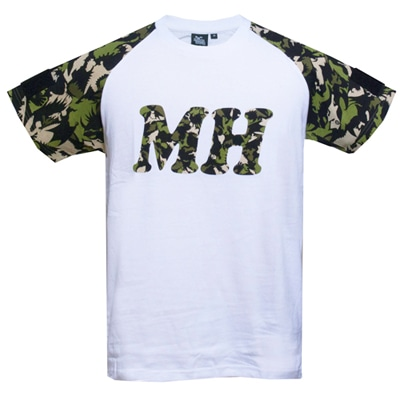 MH Tシャツ for PATCHカモフラージュ(GREEN)S