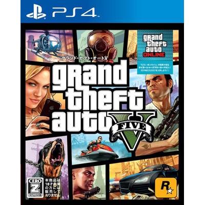 Grand Theft Auto V(グランド・セフト・オートV)(PS4)