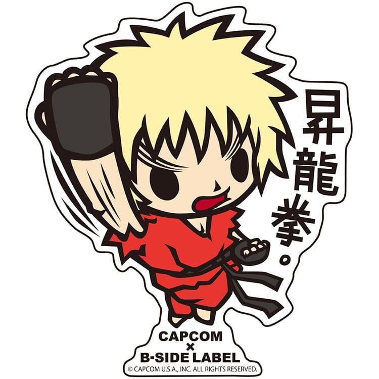 CAPCOM×B-SIDE LABELステッカー ウルII 昇龍拳