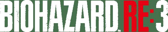 バイオハザードRE3のタイトルロゴ